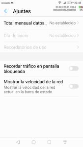 Limitar el uso de datos