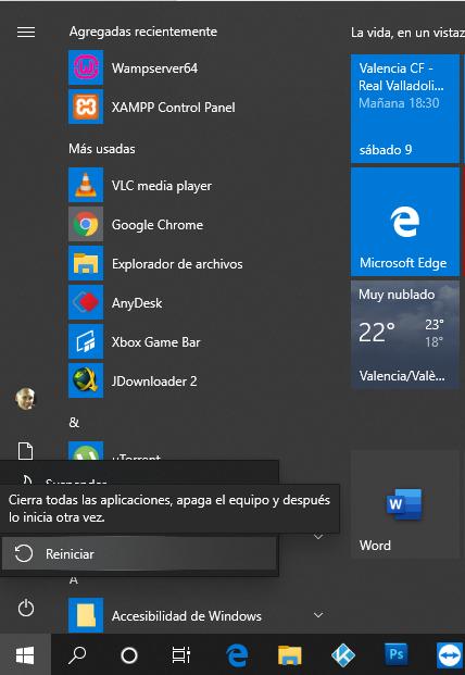 Como cerrar windows 10 _8